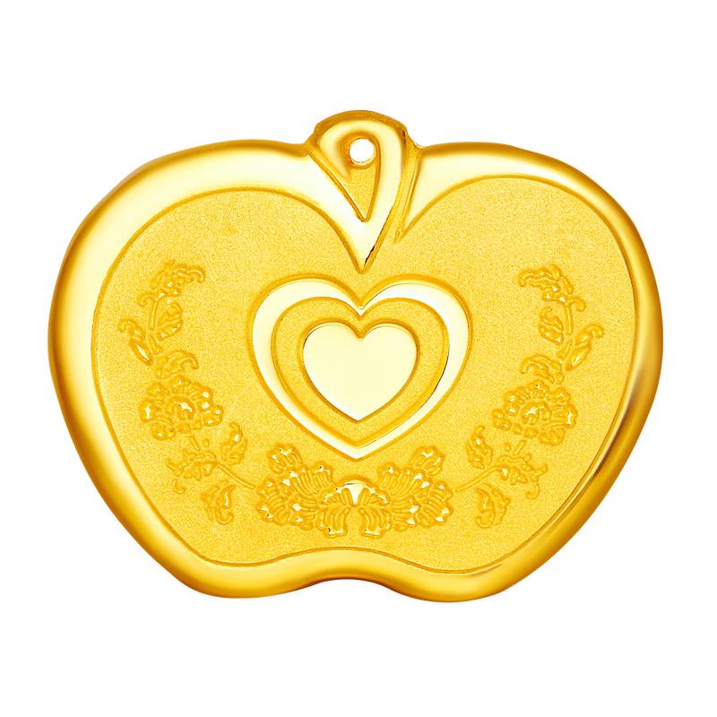 国富黄金宝宝金锁 儿童节礼物