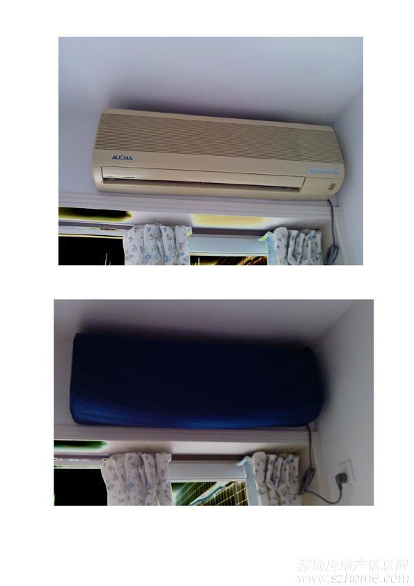 窗式空调拆卸图解