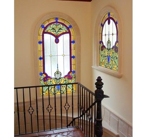 彩色装卸玻璃门窗吊顶灯