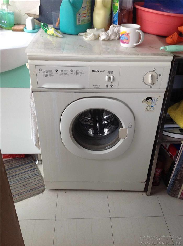 > 自用滚筒海尔洗衣机转让
