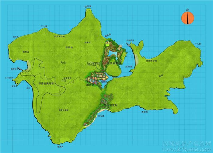 7海里,由深圳,香港,东莞,惠州出发抵达三门岛只需1.5小时.