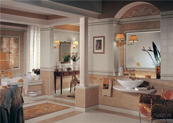 居室装修格调高雅,造型简朴