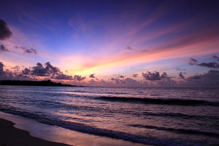 红海湾日出