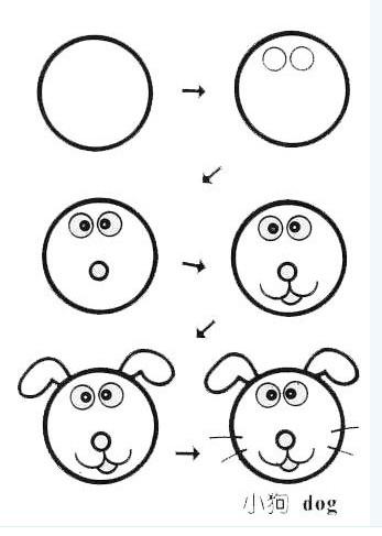 给孩子画的几幅简笔画