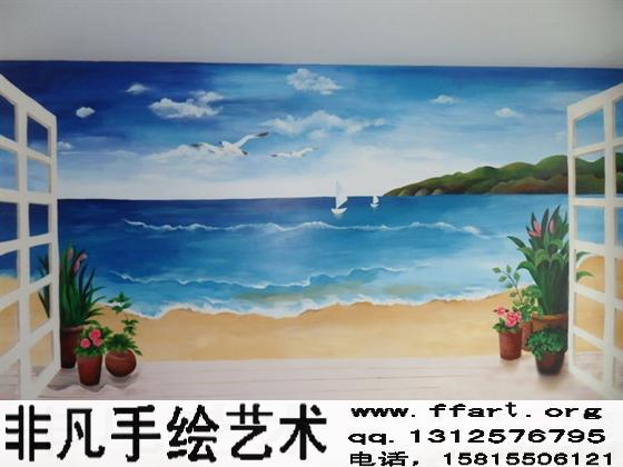 手绘墙壁画要比贴壁纸好在哪里?