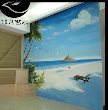 哪个公司有手绘墙,壁画工程,天顶画的请联系