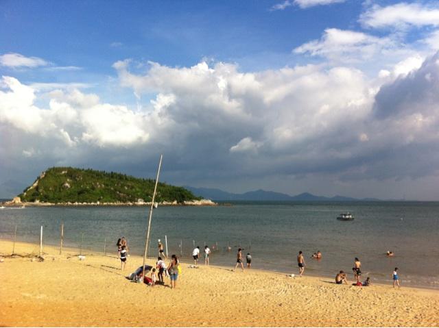 大亚湾的海 熊猫海滩,霞涌镇