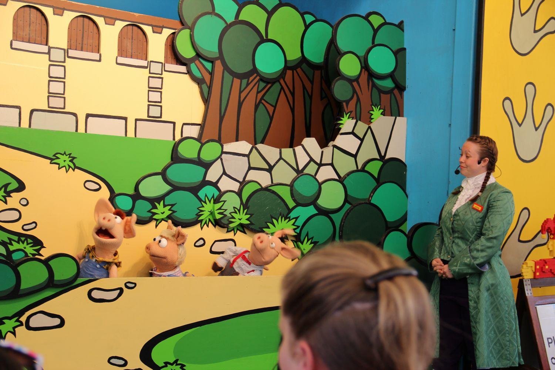简笔画 三只小猪盖房子