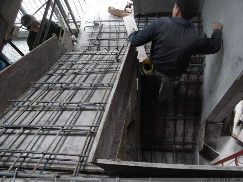 专业做现浇混凝土楼板和楼梯
