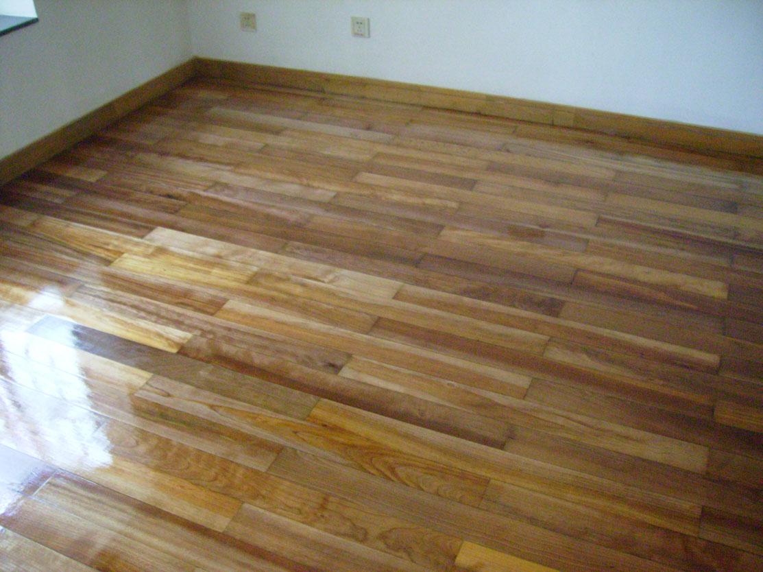 木地板翻新工序的记录