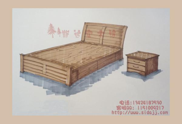 斯达纯实木家具·家具设计图汇总
