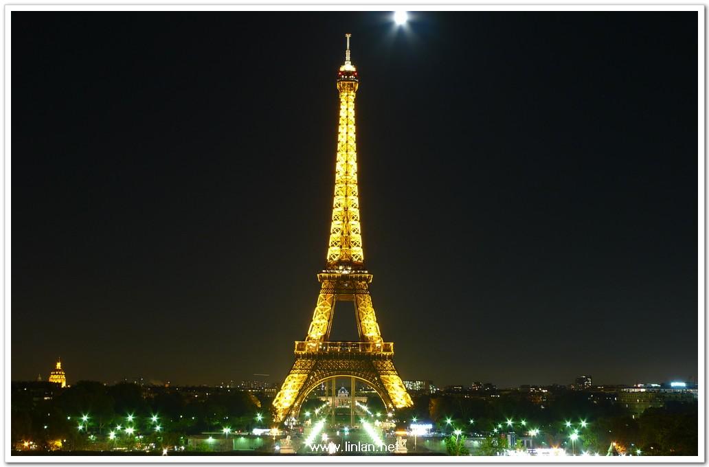 如果你曾静静地看埃菲尔铁塔的黄昏