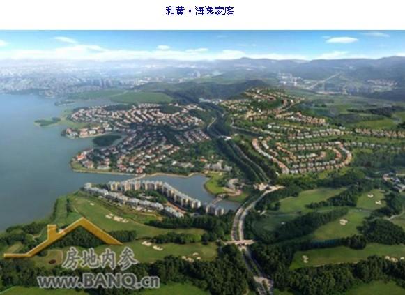 北京有温榆河,上海有西佘山,深莞海逸豪庭