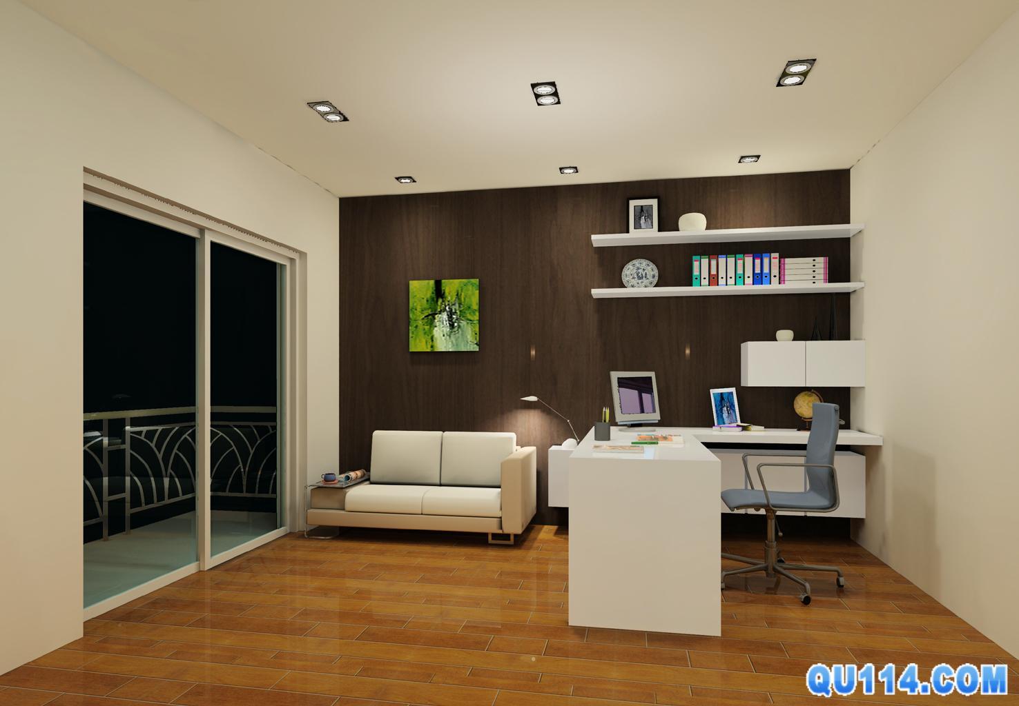 55平米办公室装修 - 深圳房地产信息网论坛