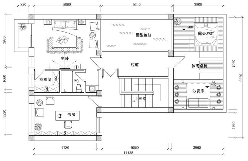 更新平面结构图《思乡的情绪》--福建自建住宅设计