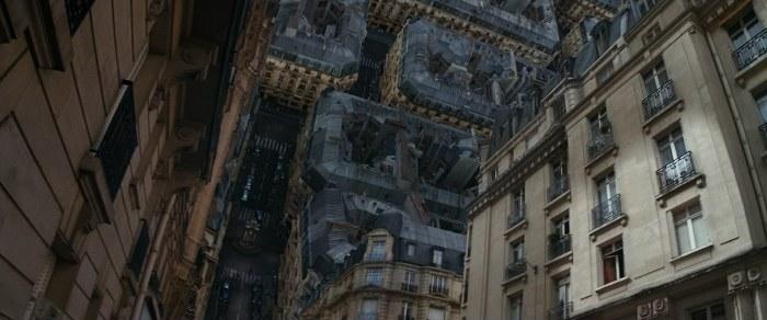 还有倒转巴黎街区这里