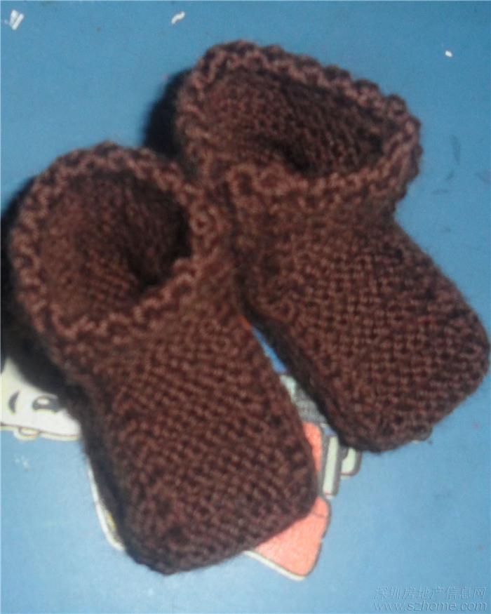 纯手工编织BB鞋