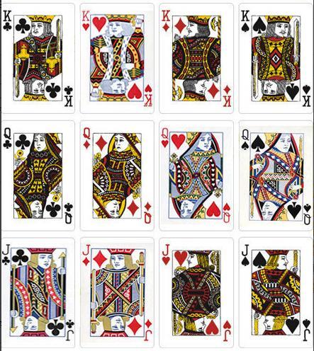 扑克牌的意义:大小王代表太阳月亮