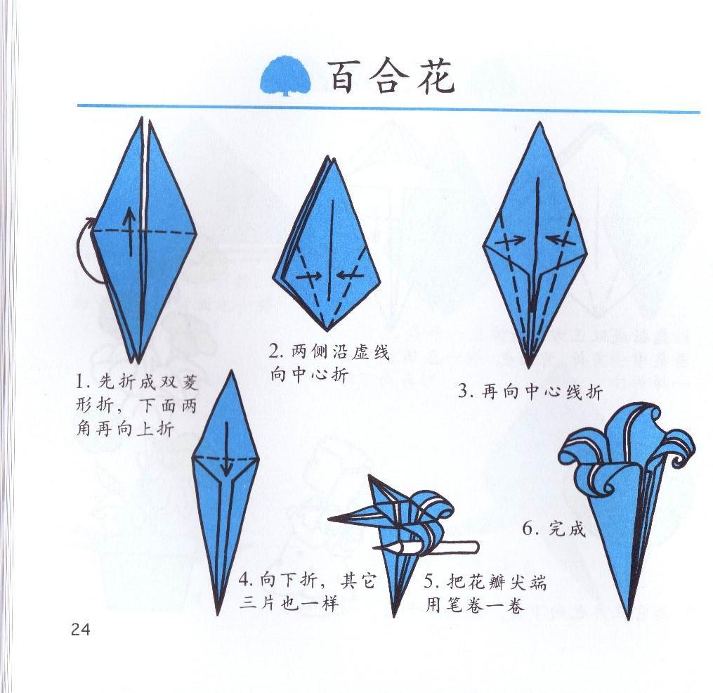 折纸房子立体图解步骤