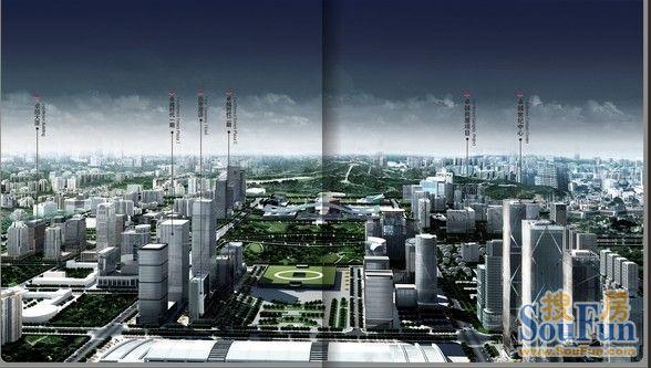 深圳正能量:第四代商务综合体点燃城市欲望之火?