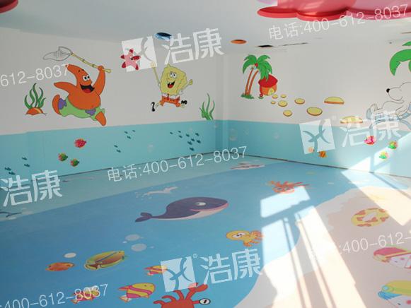 浩康幼儿园地板巧链接