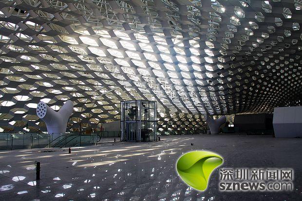 (转)深圳机场t3航站楼主体及交通中心工程竣工
