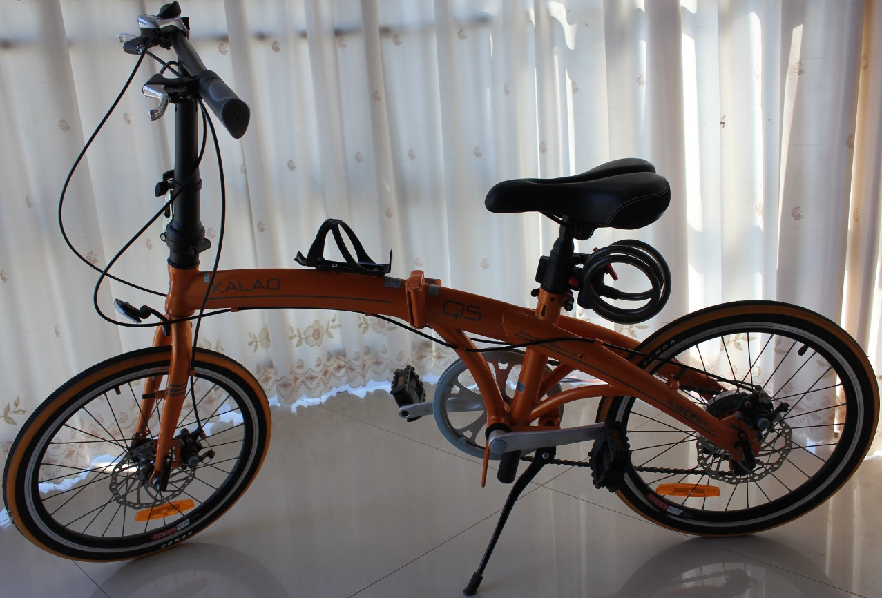 转让20寸折叠车单车自行车