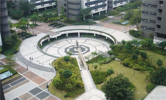 没有商业裙楼包围的花园式纯高层住宅小区,将是深圳的稀缺高清图片
