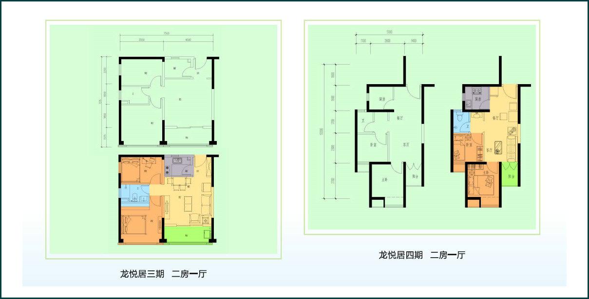 2013年公租房全套户型图