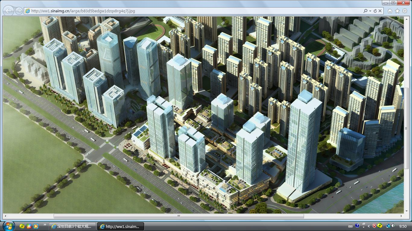 科技园华润大冲商业街区设计图