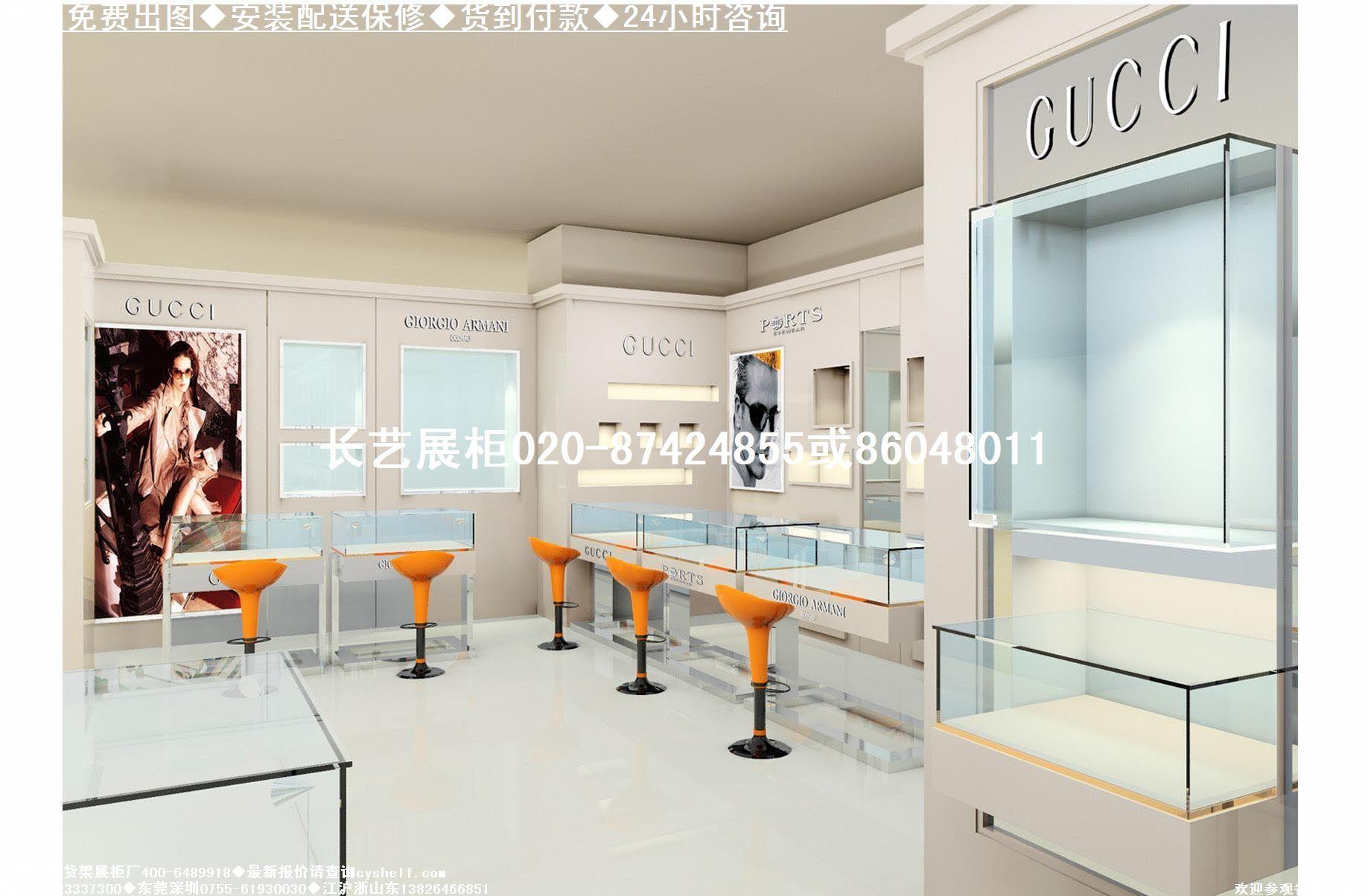服装店展柜设计|商场服装展柜效果图|欧式服装展柜