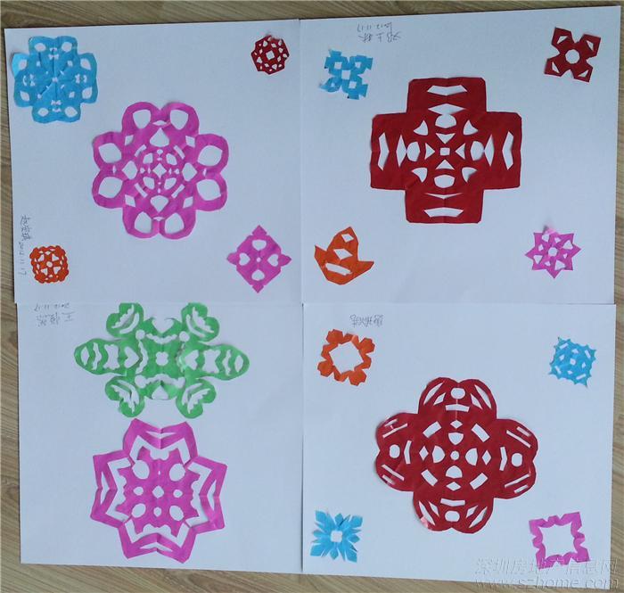 小学窗花的剪法步骤图 简单 图解
