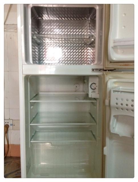 海尔小统帅130升双门冰箱
