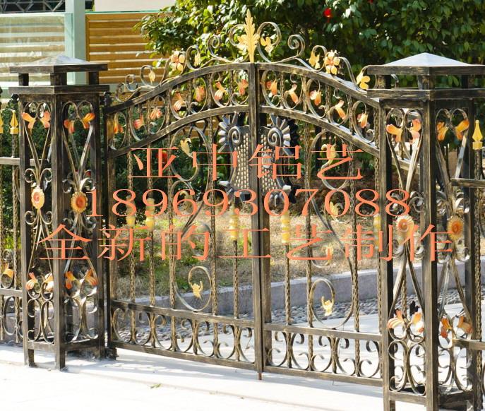 铝庭院门阳台栏杆大门护栏