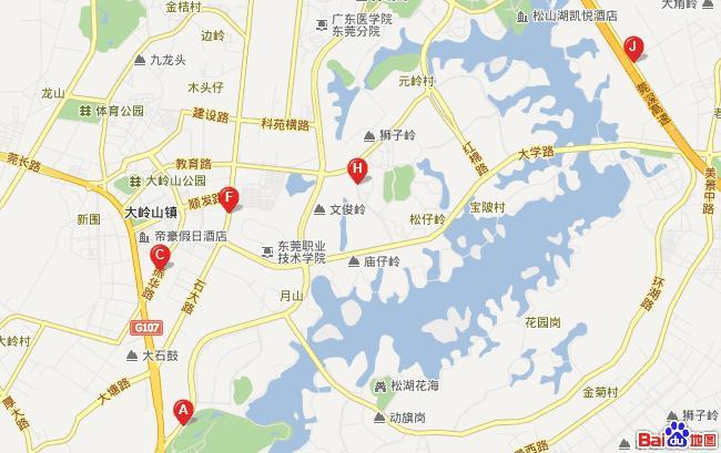 到深圳市区及深圳机场40分钟车程;