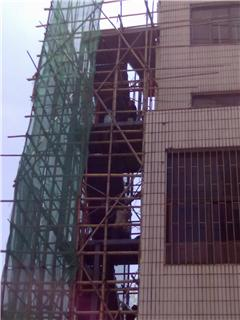 内有QQ图纸,欢迎室外消防铁楼梯一条,8层,需要tzn号码图片